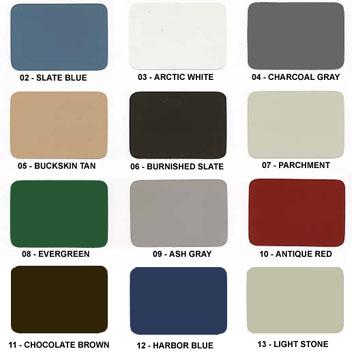 Corle Construction Color Selection